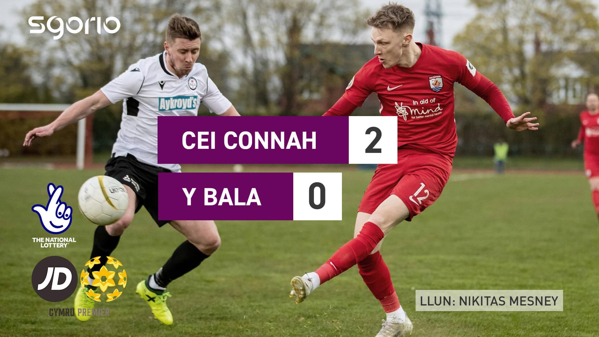 Cei Connah 2-0 Y Bala