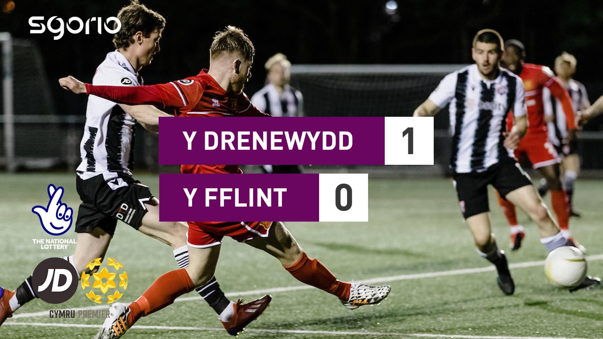 Y Drenewydd 1-0 Y Fflint