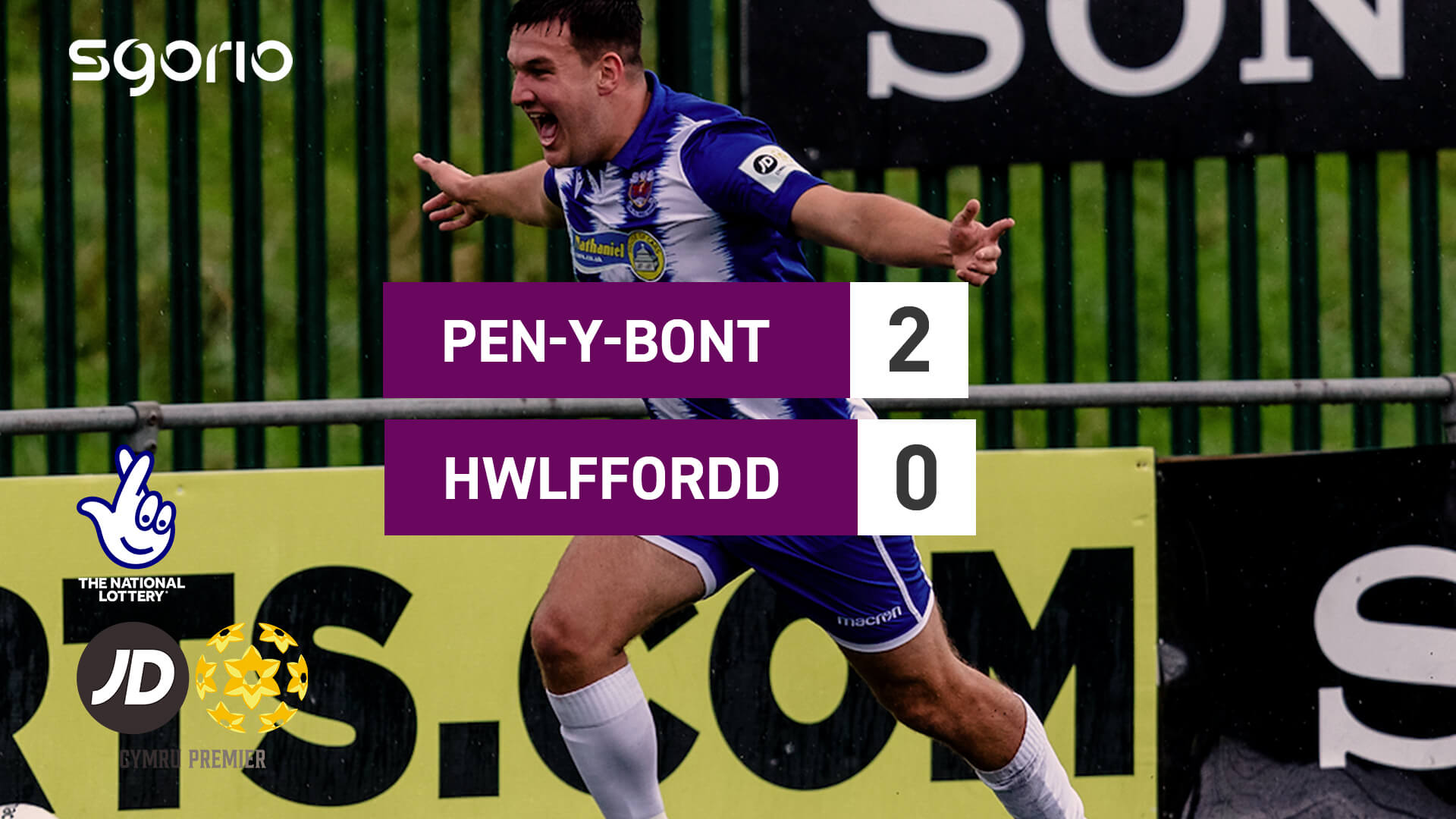 Pen-y-bont 2-0 Hwlffordd