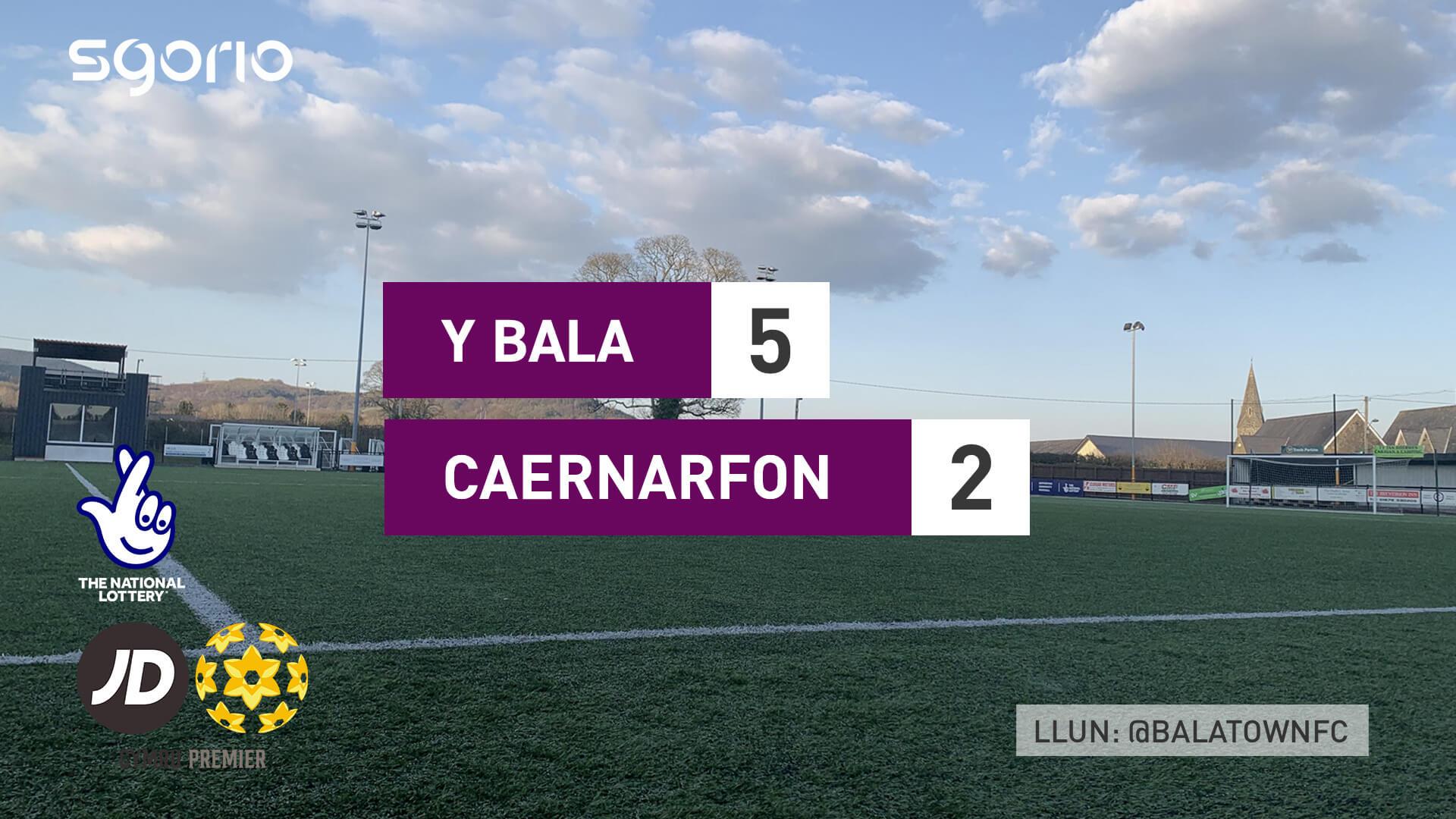 Y Bala 5-2 Caernarfon