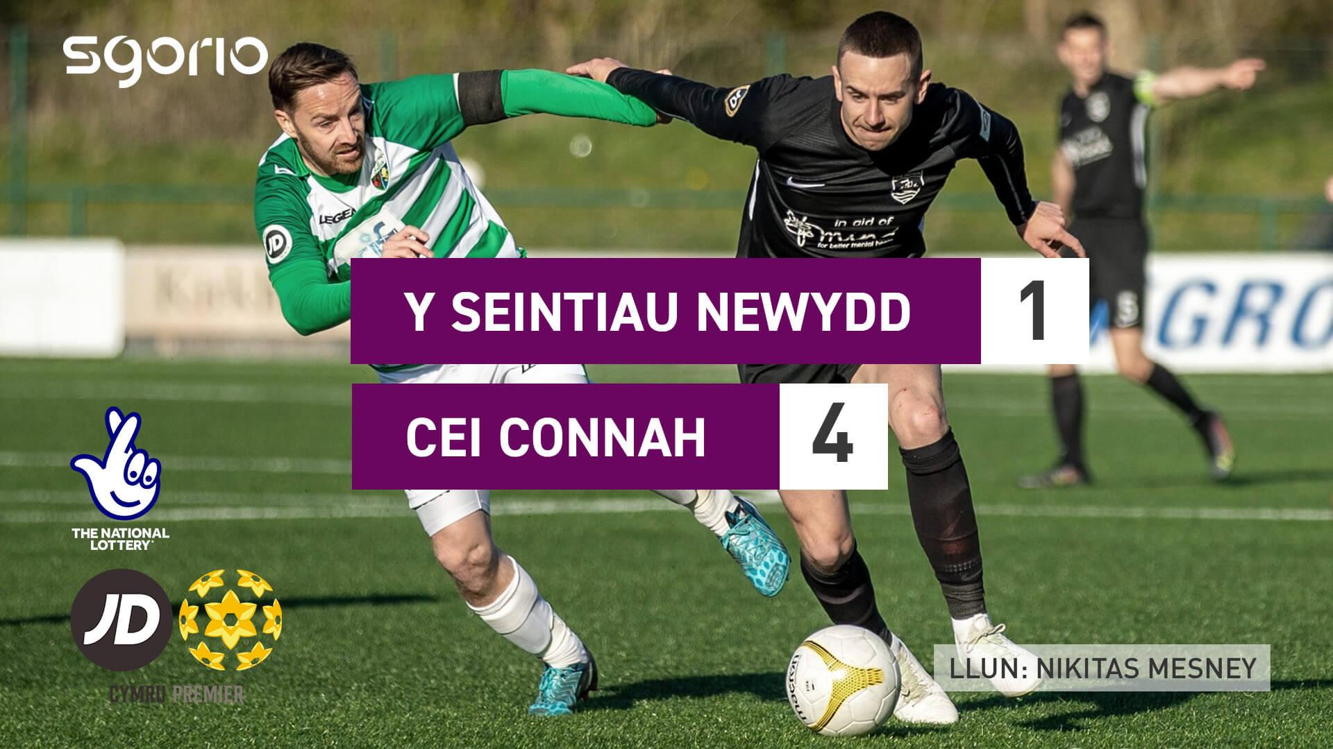 Y Seintiau Newydd 1-4 Cei Connah