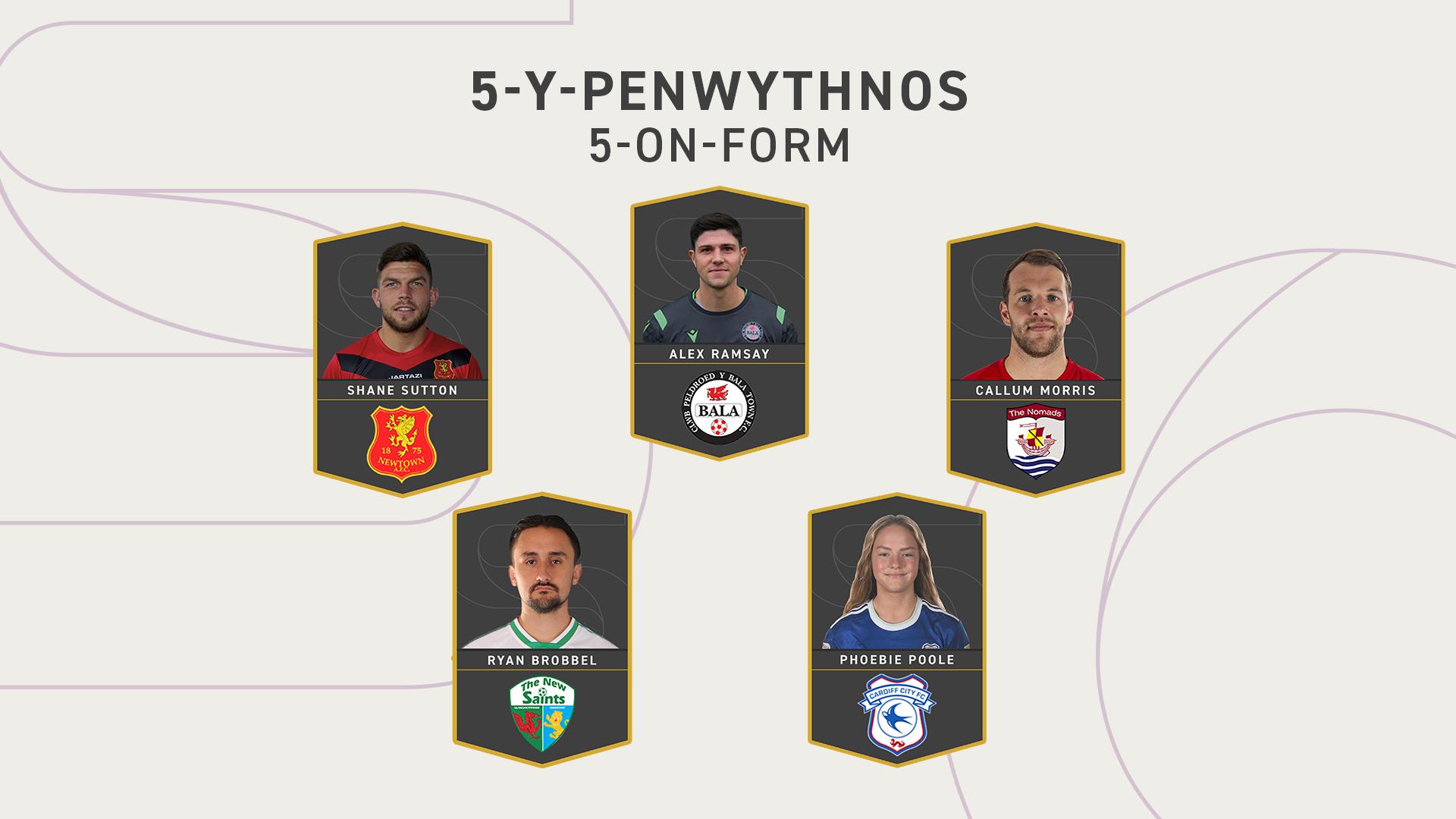 5-y-Penwythnos