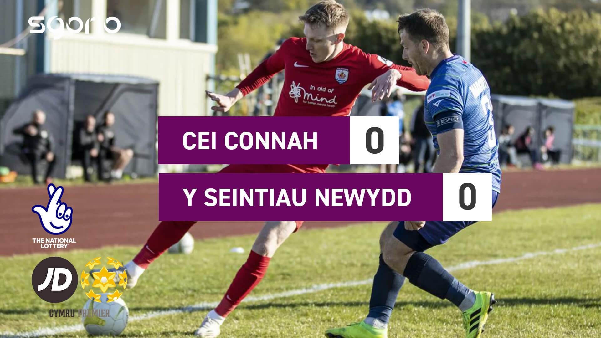Cei Connah 0-0 Y Seintiau Newydd