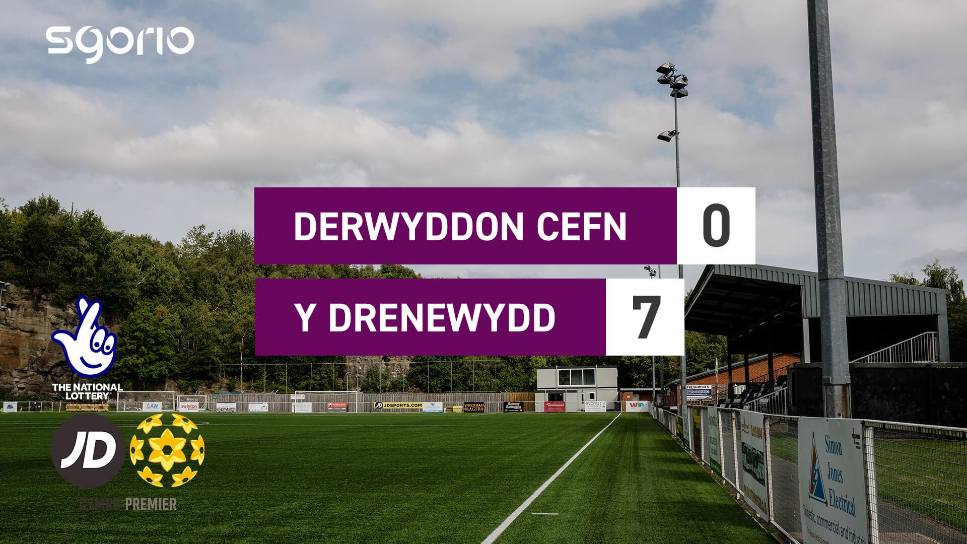 Derwyddon Cefn 0-7 Y Drenewydd
