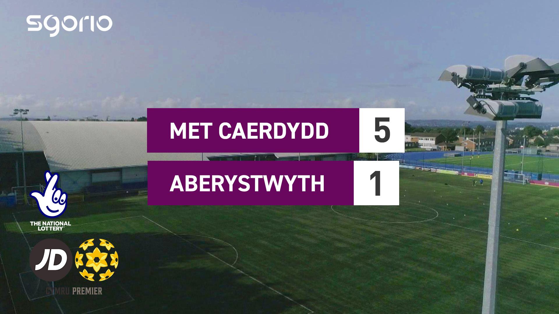 Met Caerdydd 5-1 Aberystwyth
