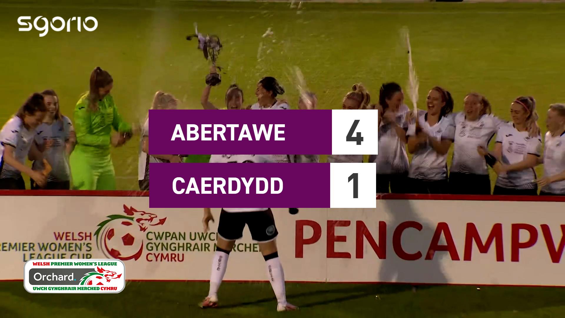 Merched Abertawe 4-1 Caerdydd