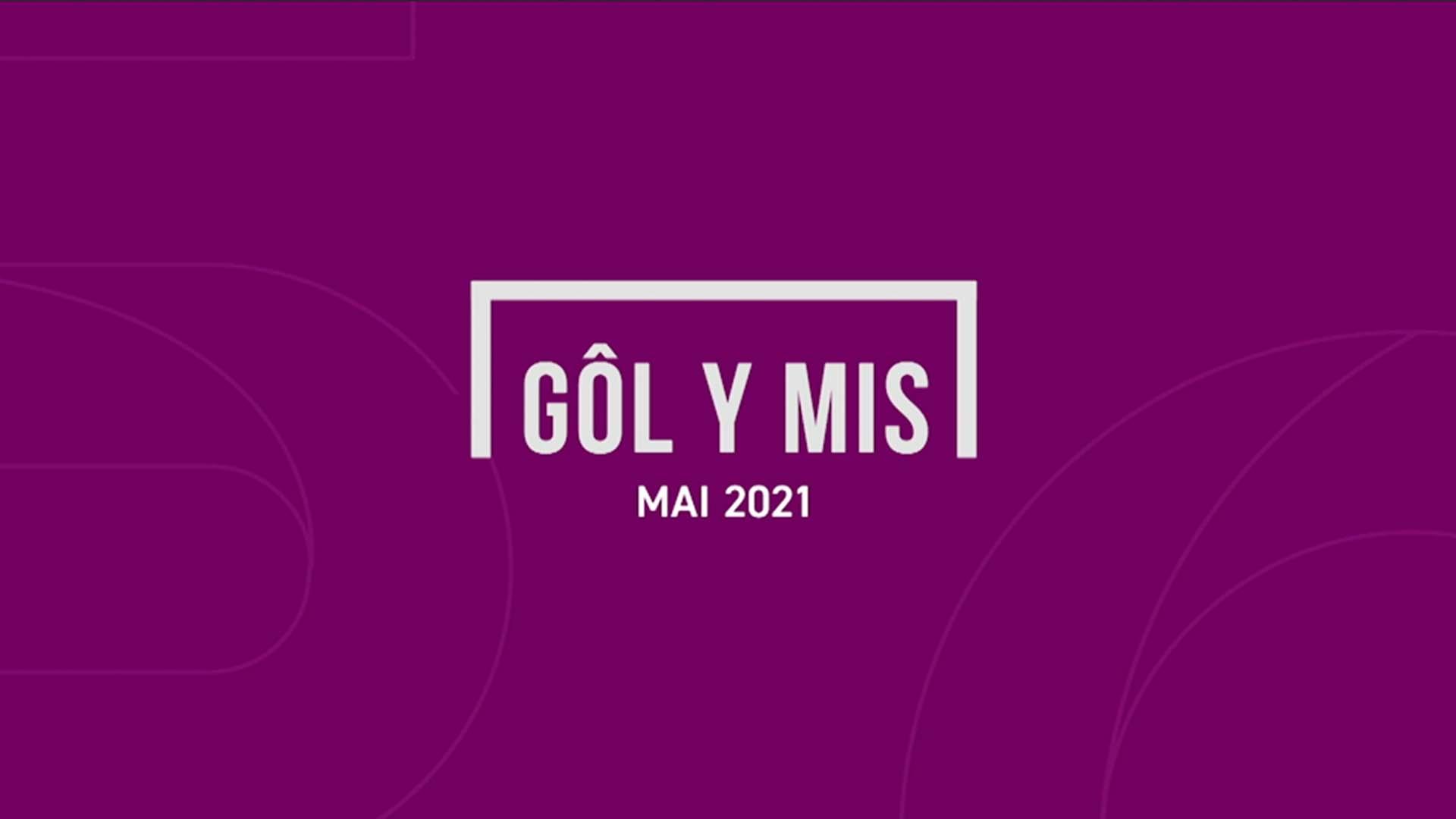 Rhestr Fer Gôl y Mis Mai 2021
