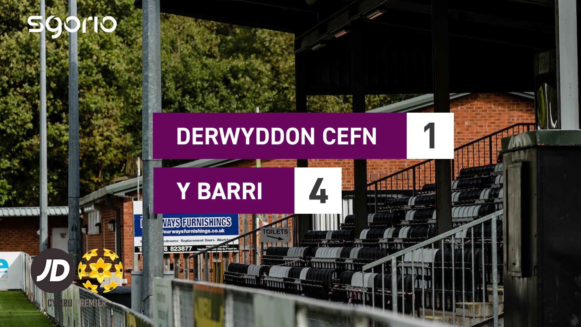 Derwyddon Cefn 1-4 Y Barri