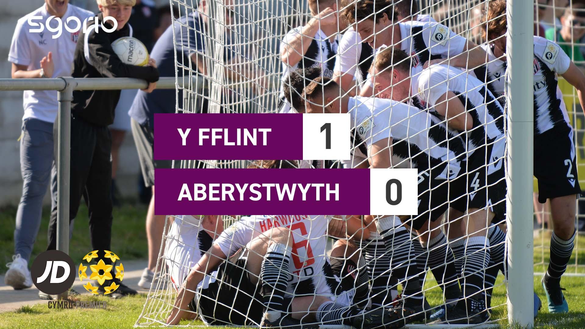 Y Fflint 1-0 Aberystwyth