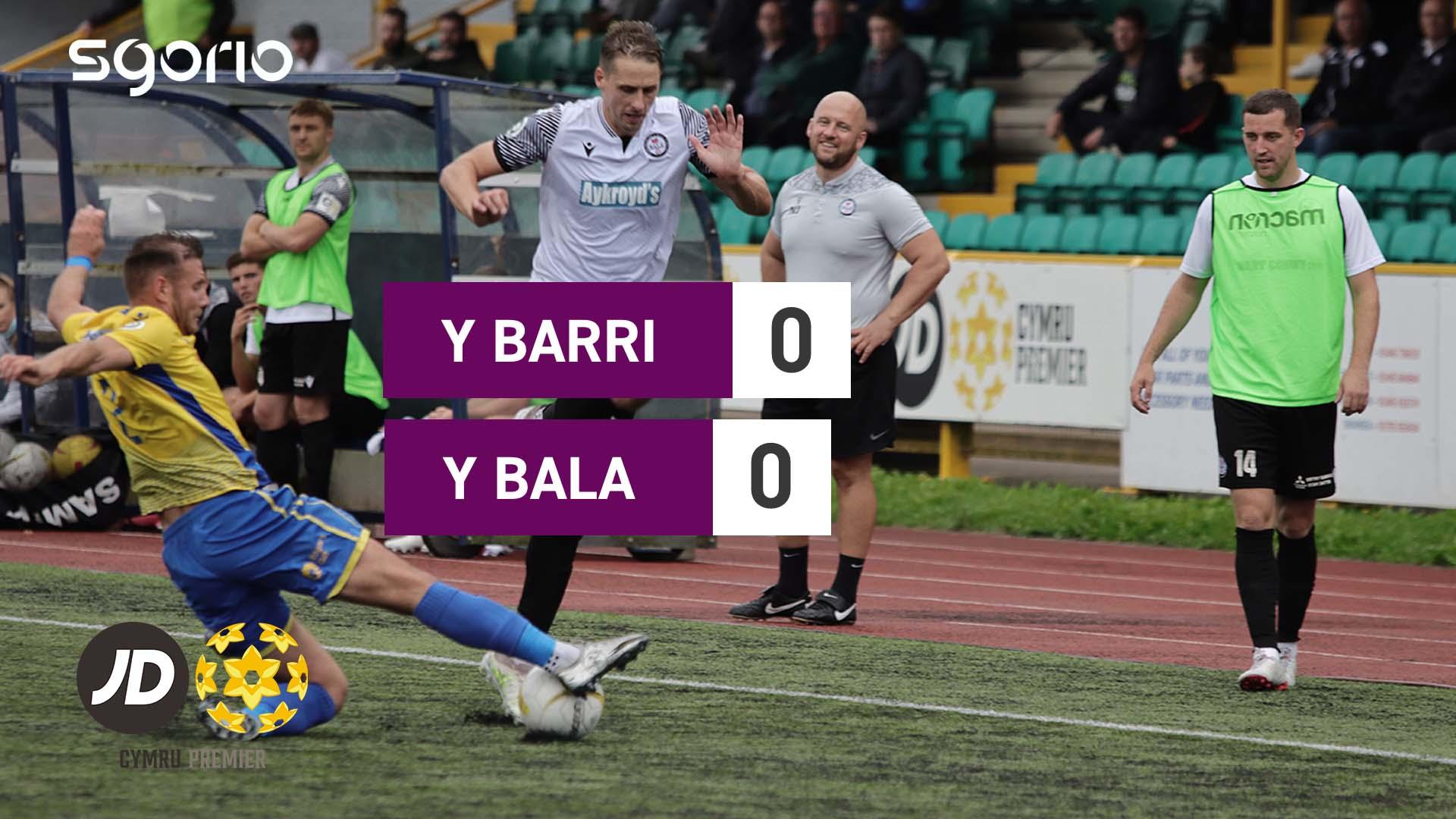 Y Barri 0-0 Y Bala