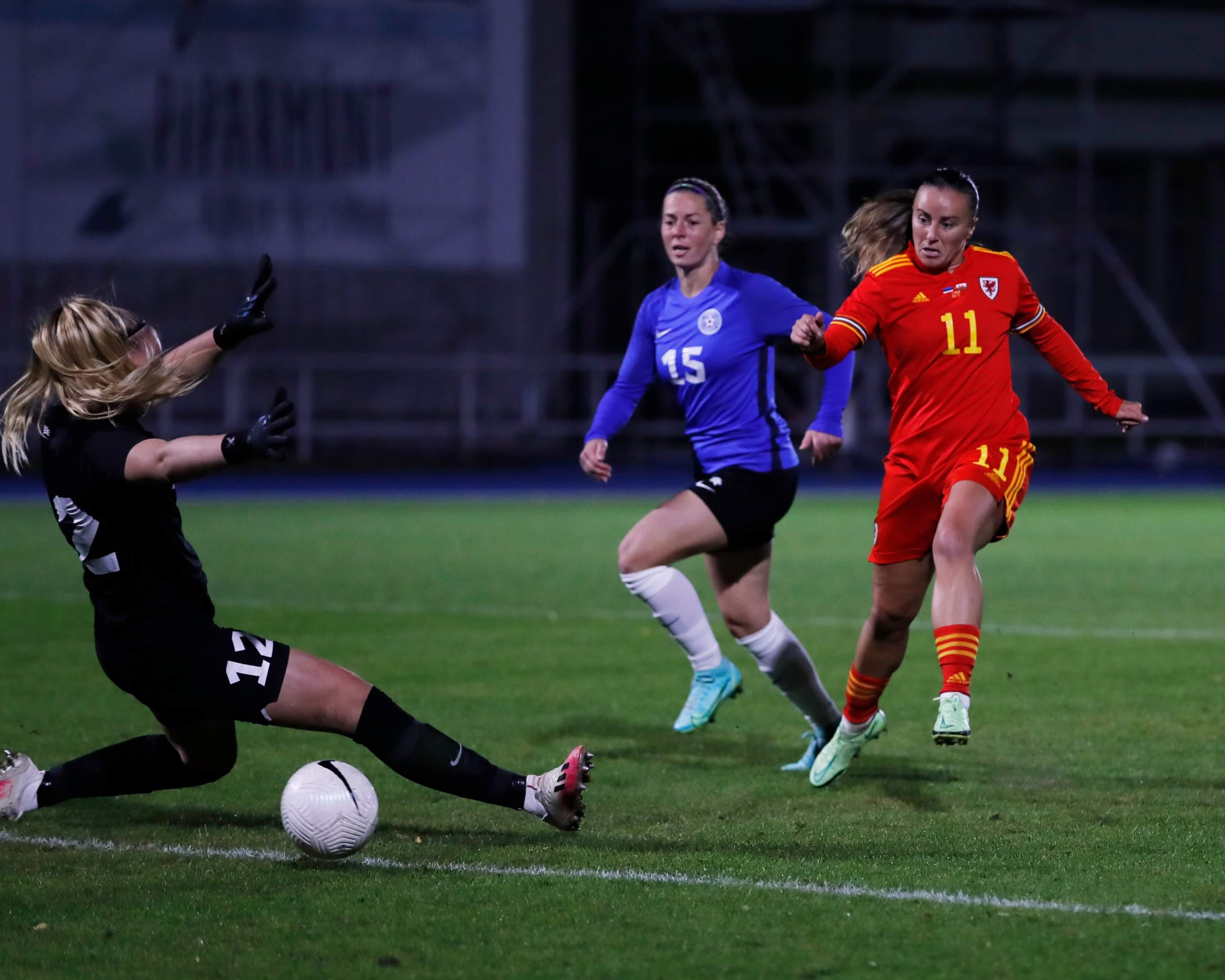 Gêm ragbrofol Cwpan y Byd 2023: Estonia 0-1 Cymru