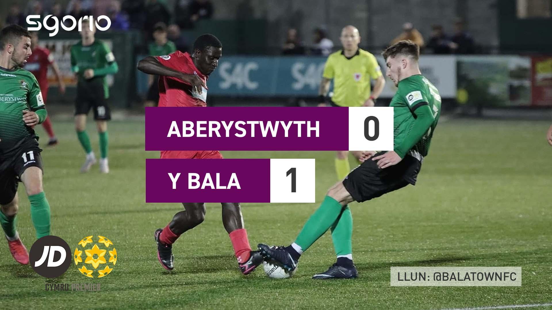 Aberystwyth 0-1 Y Bala