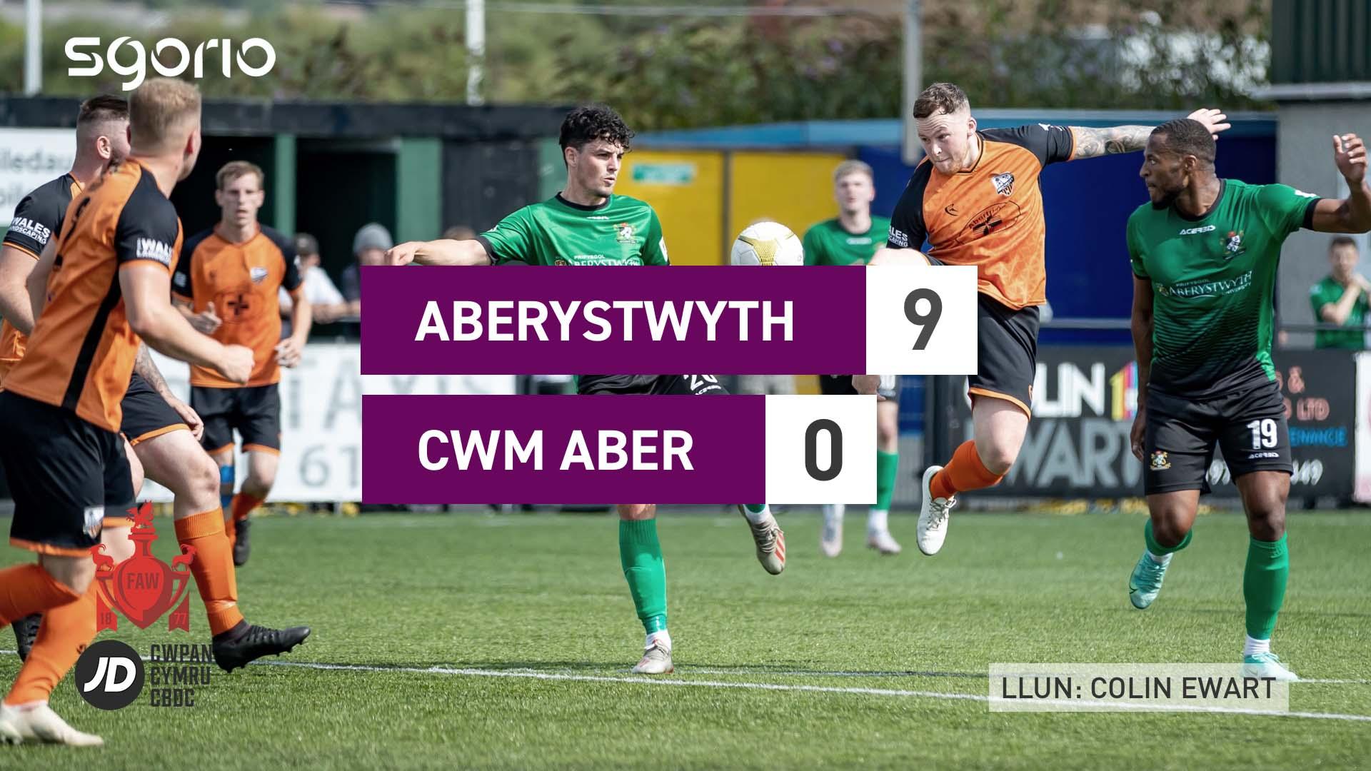 Aberystwyth 9-0 Cwm Aber