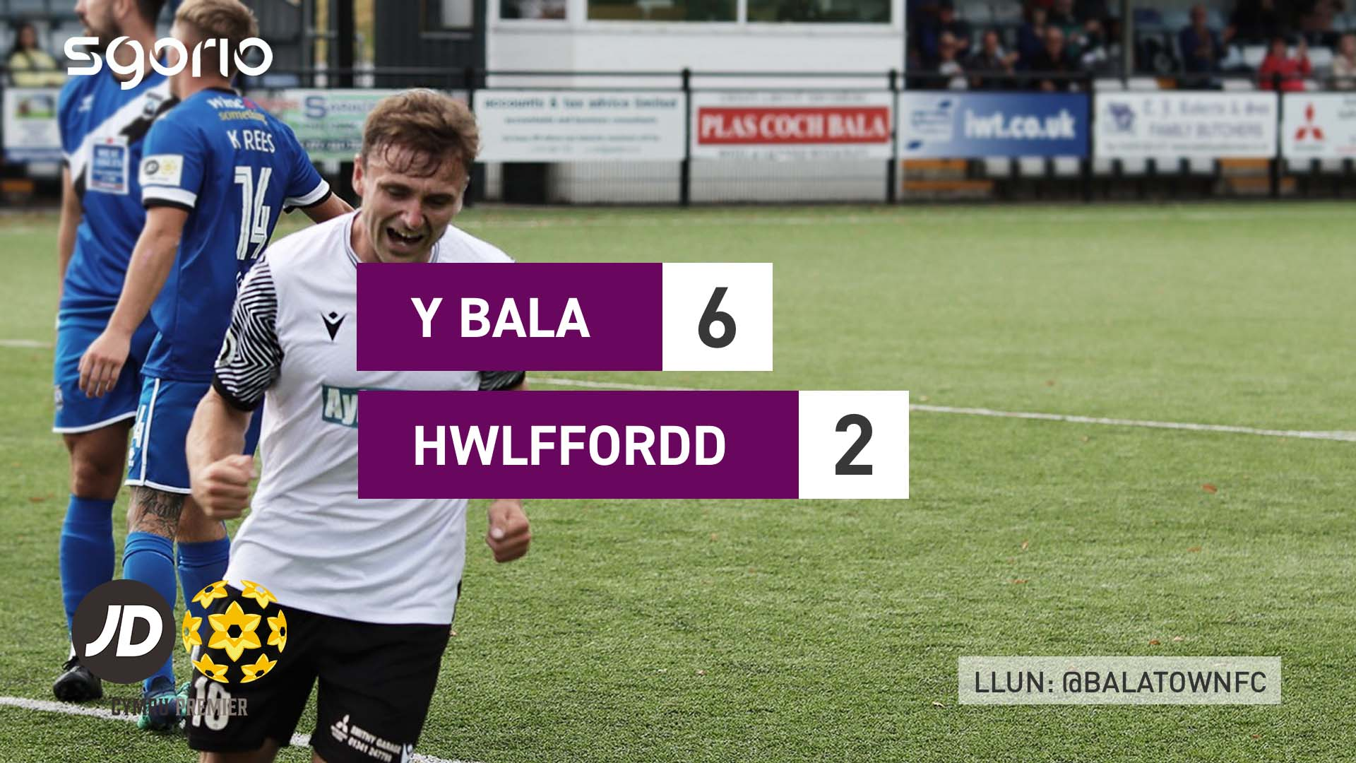 Y Bala 6-2 Hwlffordd