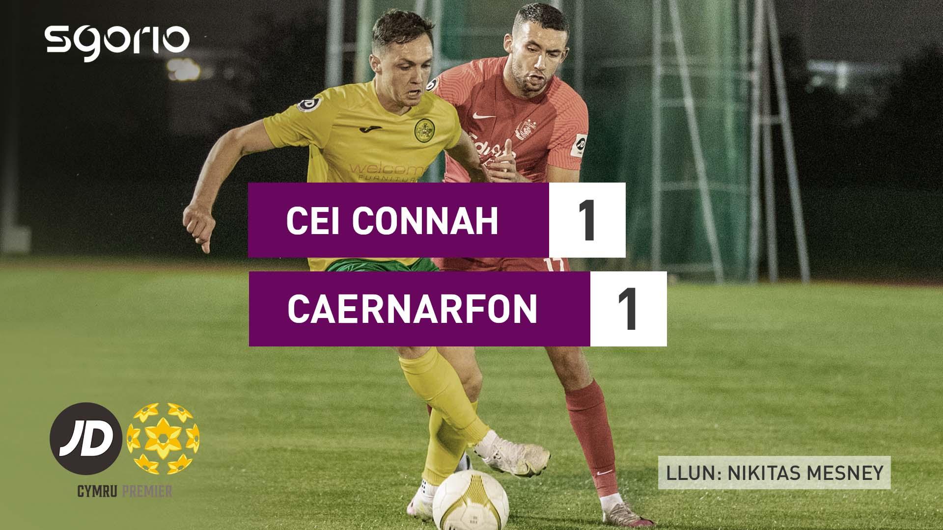 Cei Connah 1-1 Caernarfon