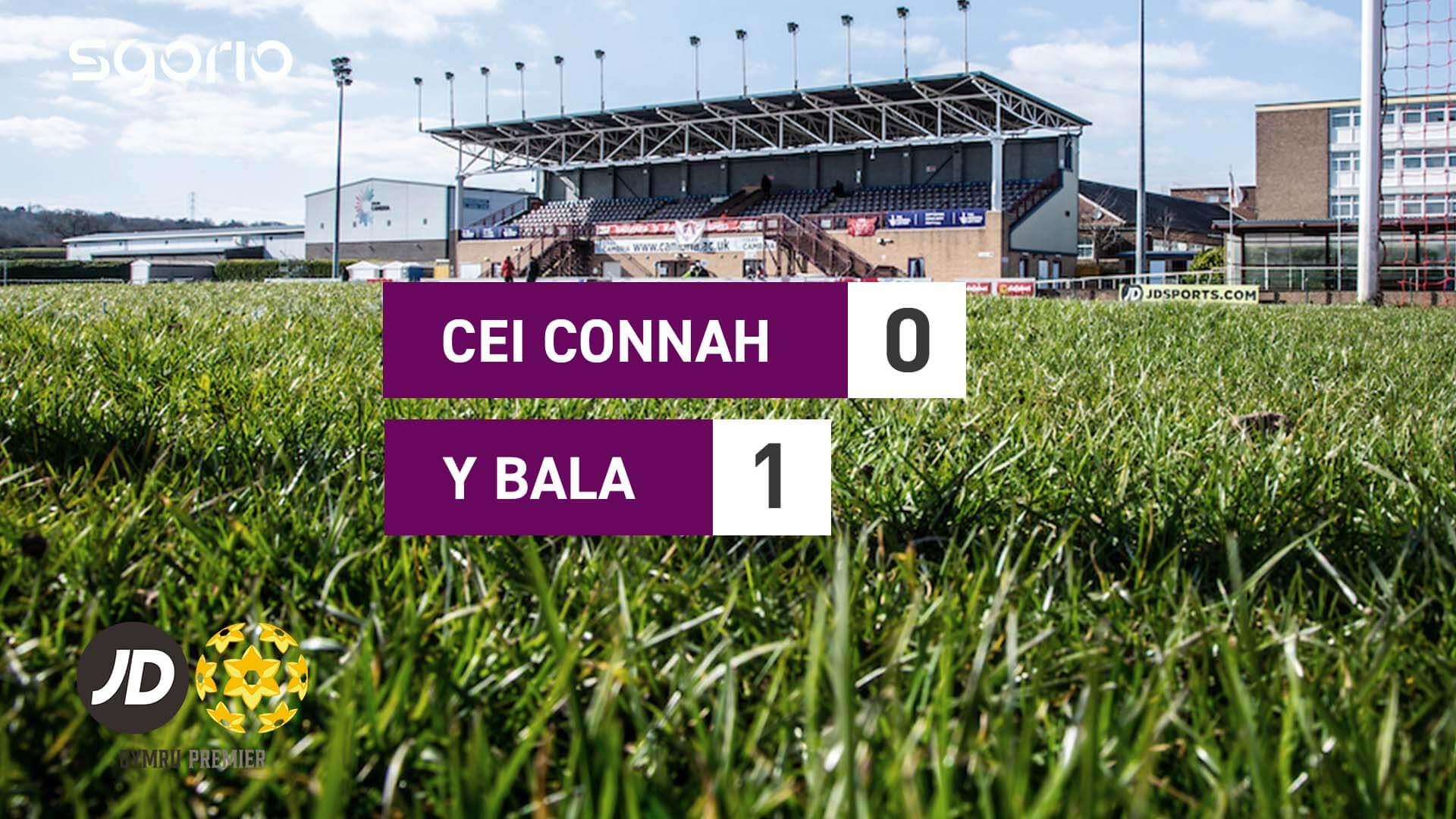 Cei Connah 0-1 Y Bala