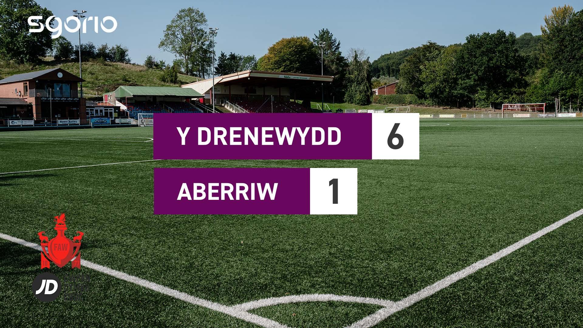 Y Drenewydd 6-1 Aberriw