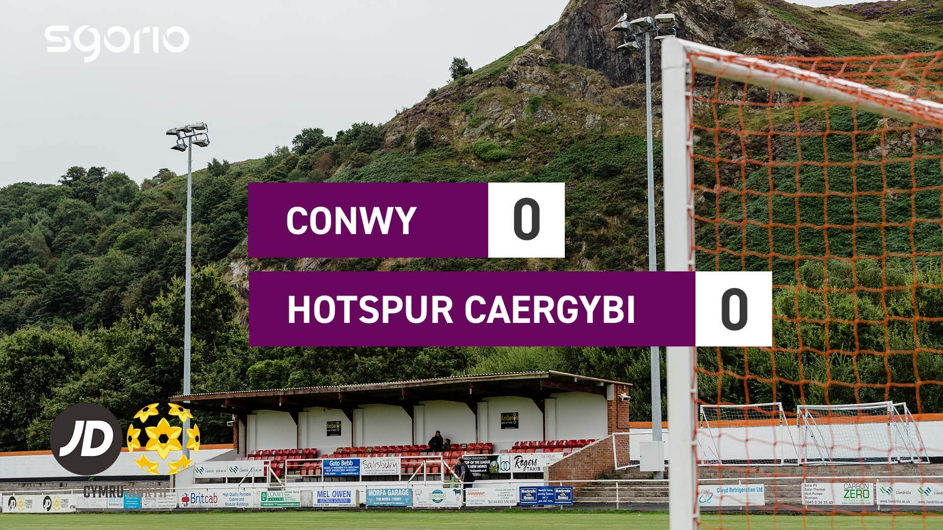 Conwy Borough 0-0 Holyhead Hotspur