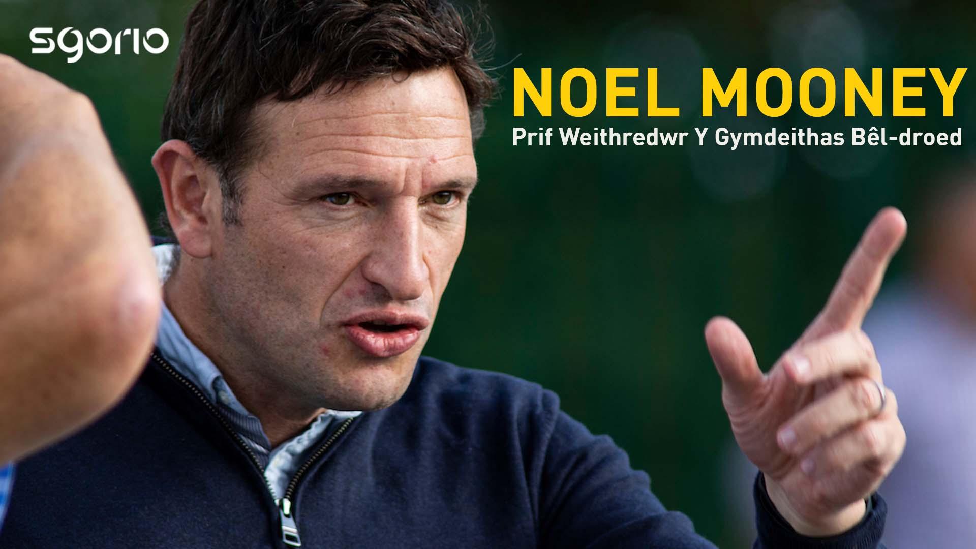 Noel Mooney |  Prif Weithredwr Y Gymdeithas Bêl-droed
