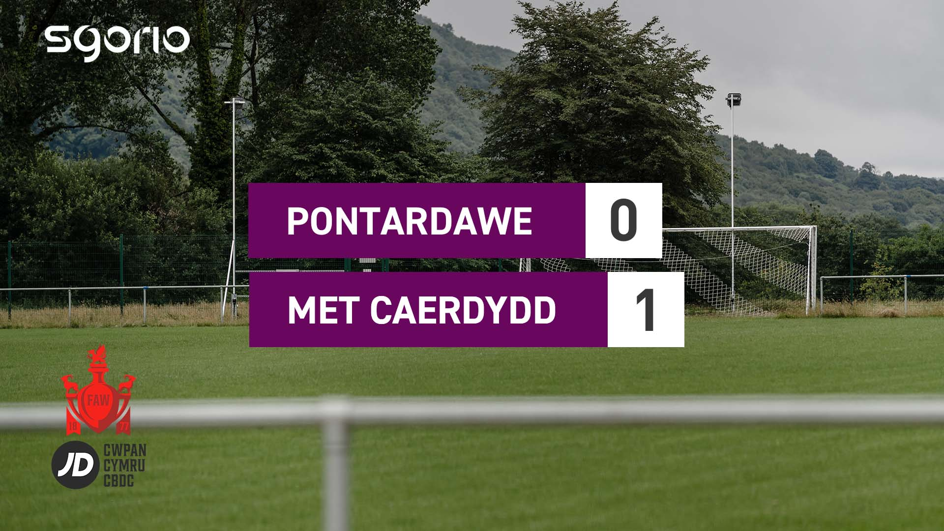 Pontardawe Town 0-1 Cardiff Met University