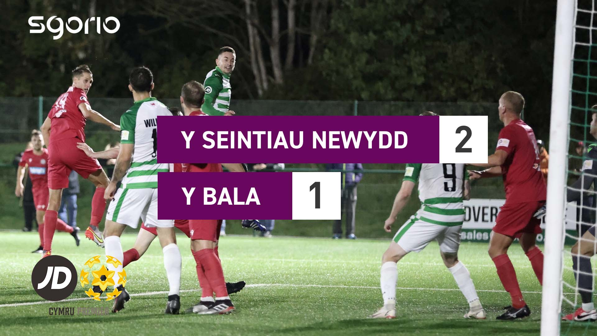 Y Seintiau Newydd 2-1 Y Bala
